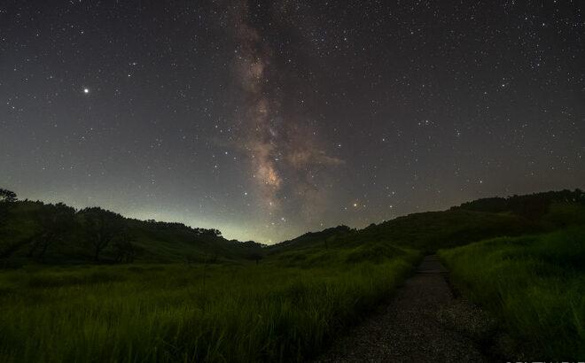 砥峰高原へ星空の撮影に行きました(兵庫県神河町)