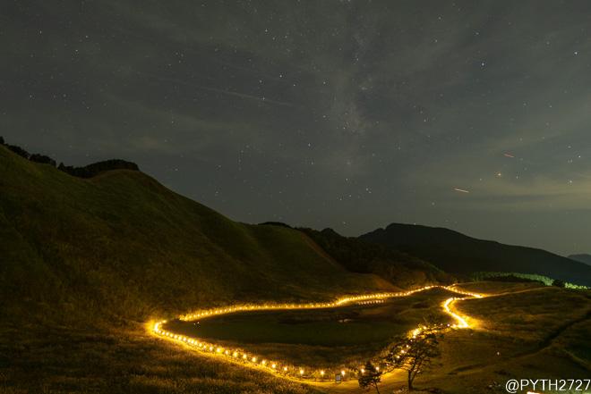 2021 山灯り